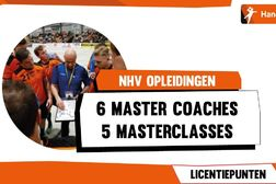 NHV Online Masterclasses voor trainers