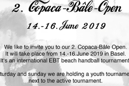 EBT Beachhandball Tournament Copaca-Bâle Open
